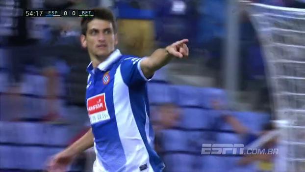 Assista ao gol da vitória do Espanyol sobre o Betis por 1 a 0!