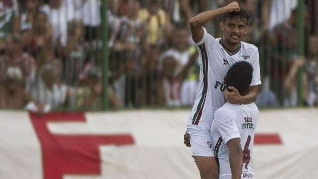 Carioca: Gol de Fluminense 1 x 0 Resende
