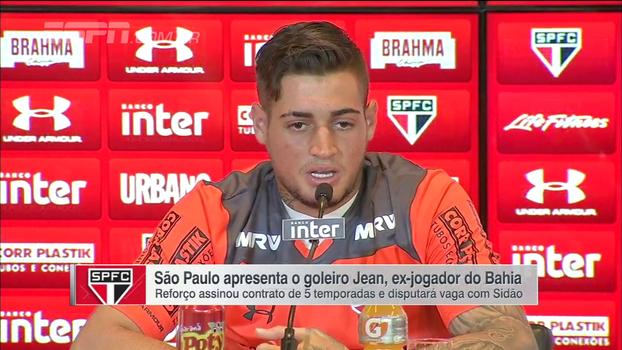 Jean celebra volta por cima no futebol ao chegar no São Paulo