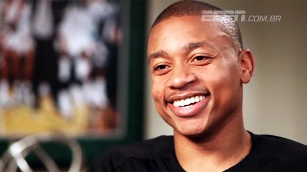 Duelo com Cavs, perda da irmã e pressão em Boston: entrevista exclusiva com Isaiah Thomas, astro dos Celtics