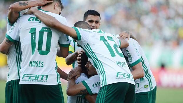 Assista aos gols da vitória do Palmeiras sobre o Atlético-GO por 3 a 1!