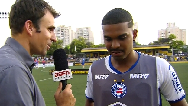 Autor do segundo gol, Hugo Ribeiro minimiza lesão e já pensa no próximo jogo