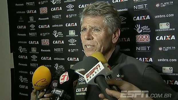 Autuori pede mais 'capricho' ao time do Atlético-PR e minimiza empate: 'Nada a lamentar'