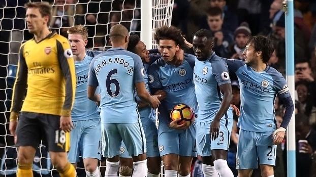 Premier League: Melhores momentos de Manchester City 2 x 1 Arsenal