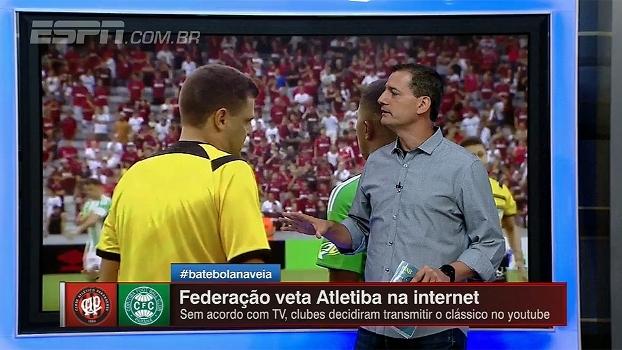 Sálvio esclarece que árbitro do Atletiba apenas seguiu ordens da Federação Paranaense