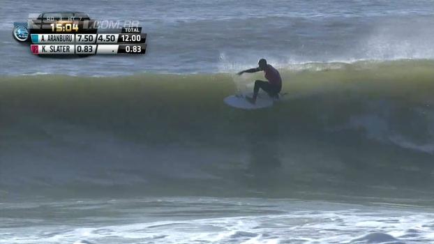 As ondas de Slater no Round 3 do WCT Portugal