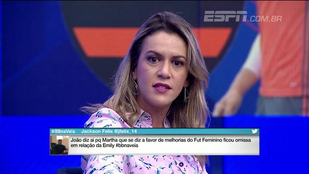 Gabi Moreira comenta crítica de Rueda à imprensa e detona veto do Flamengo a jornalista do Extra