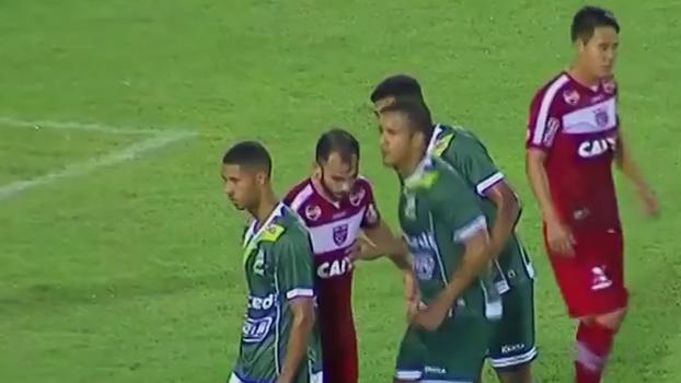 Assista aos gols do empate entre CRB e Luverdense por 2 a 2!