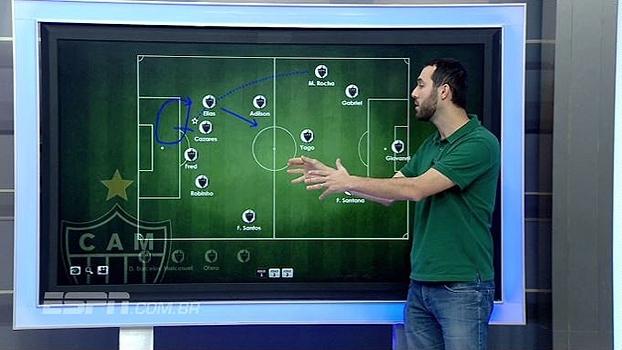 Hofman analisa postura defensiva do Atlético-MG e movimentação no gol de Cazares