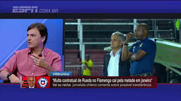 Mauro Cezar fala sobre 'situação esquisita' de Reinaldo Rueda: 'O Flamengo está em uma sinuca'