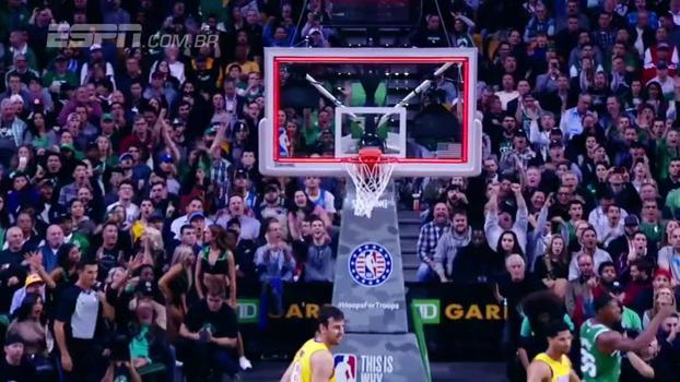 Veja as melhores cestas no estouro do cronômetro da temporada da NBA