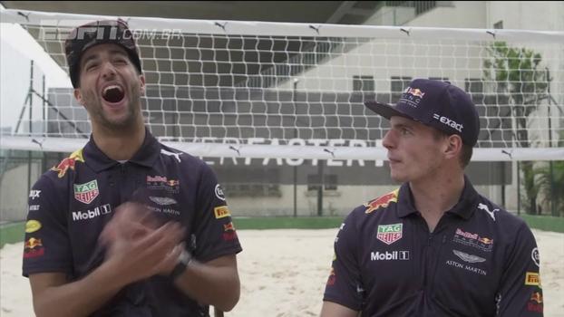 Max Verstappen e Daniel Ricciardo trocam elogios: 'Poderíamos vencer 10 corridas cada'