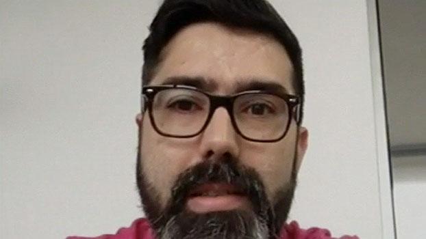 Blogueiro do Inter se emociona e corneta grêmio na despedida de D?Alessandro