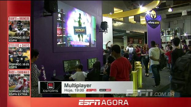 Felipe Felix traz as novidades do mundo dos E-Sports na Brasil Game Show