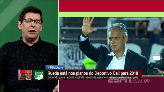 Com Rueda na mira do Deportivo Cali, BB Debate destaca boa participação em competições internacionais e brinca com possíveis substitutos