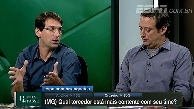 Arnaldo coloca elenco do Cruzeiro acima do Atlético-MG: 'Muito mais completo'