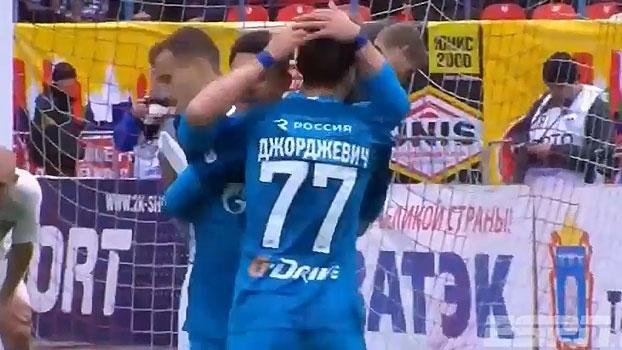 Veja o golaço de Giuliano na vitória do Zenit sobre o Anzhi