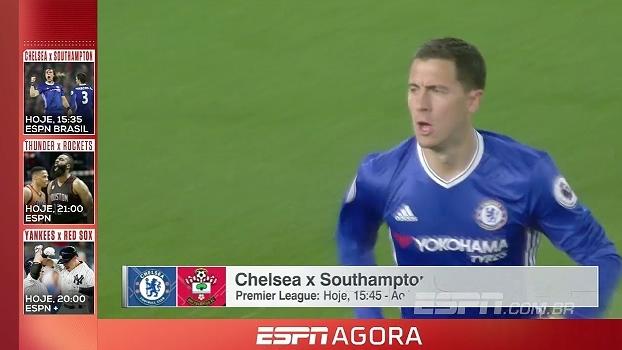Chelsea, Copa da Alemanha, playoffs da NBA e mais; tudo da programação da ESPN desta terça-feira
