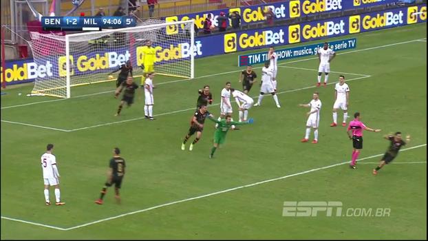 Milan leva gol de goleiro aos 49 do 2º tempo e cede primeiro ponto ao 'pior time da Europa' no Italiano