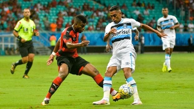 Brasileiro: Gol de Vitória 0 x 1 Grêmio