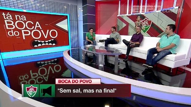 Sem sal, mas na final! Bate Bola Debate analisa Fluminense e diz que semi foi atípica