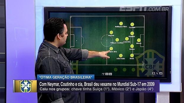 Bertozzi relembra seleção que caiu na fase de grupos no Mundial sub-17 em 2009