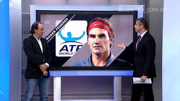 Meligeni fala sobre preparação de Federer para Wimbledon e eliminação precoce em Stuttgart