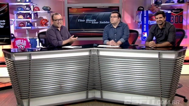 Everaldo Marques, Paulo Antunes e Rômulo Mendonça se despedem do The Book após 10 anos de programa