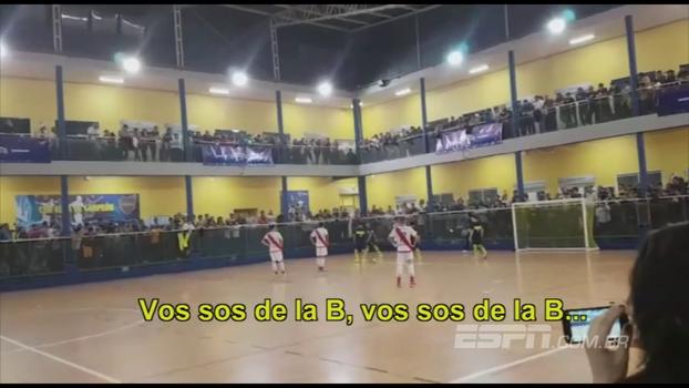 Com provocação da torcida, Boca vence River no futsal e se mantém na liderança