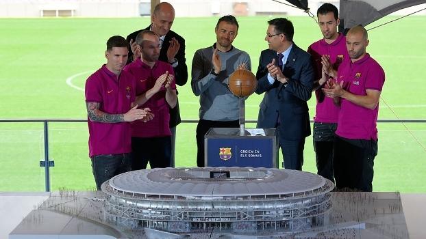 Barcelona apresenta projeto de Novo Camp Nou e planeja faturar 50 milhões de euros a mais por ano