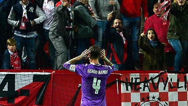 'Drama' de Sergio Ramos em Sevilla é destaque no resumo da LaLiga
