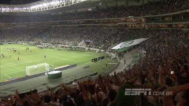 Na inauguração do Allianz Parque, Sport surpreendeu e venceu o Palmeiras; relembre