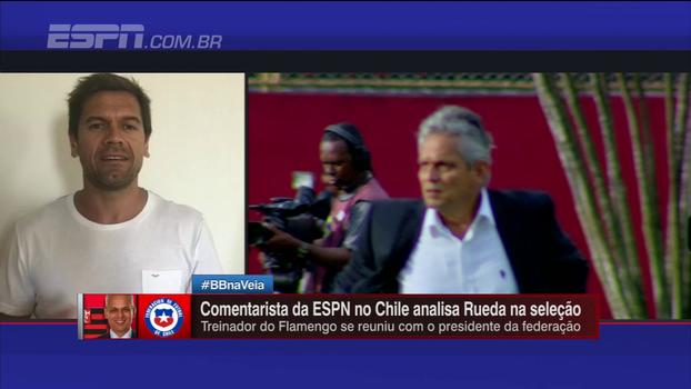 Jornalista chileno informa sobre tratativas no Chile: 'Rueda é o favorito da direção'