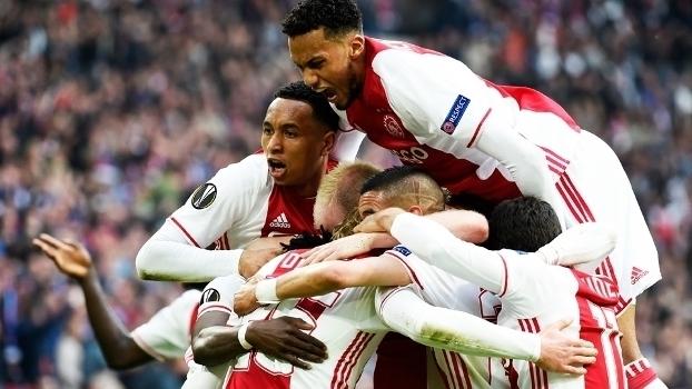 Europa League - semifinal (ida): Gols de Ajax 4 x 1 Lyon