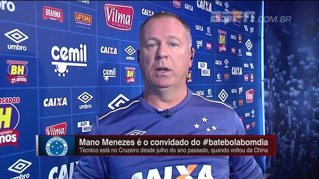 Mano explica por que Ábila não deu certo no Cruzeiro
