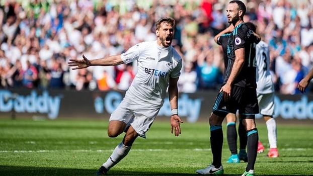 Premier League: Gols de Swansea City 2 x 1 West Bromwich
