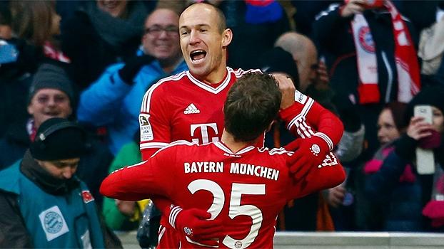 Veja todos os gols da 14ª rodada do Campeonato Alemão!