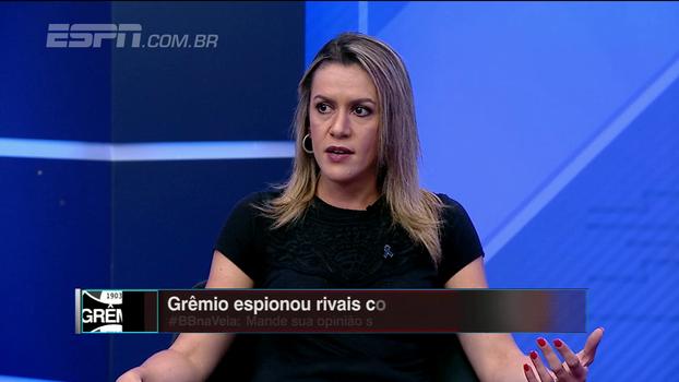 Gabi Moreira explica apuração em espionagem do Grêmio e pede que seja informada de mais casos