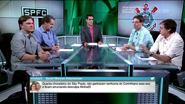 Eduardo Tironi: 'O Corinthians não está jogando nada há muito tempo'