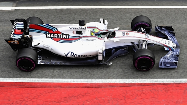 Com Felipe Massa, Williams vai dominando o pit lane da Fórmula 1 em 2017