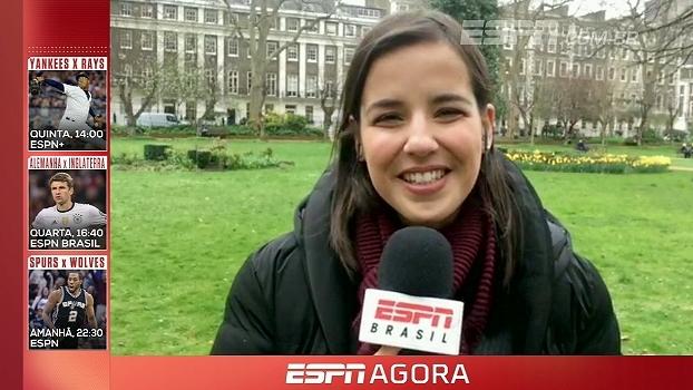 Natalie Gedra conta tudo o que aconteceu com ela e no campo no jogo entre Manchester City e Liverpool