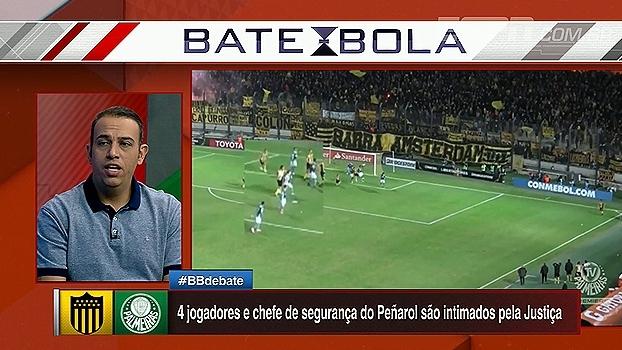 Edu de Meneses elogia atuação do seguranças do Palmeiras: 'Protegeram os jornalistas brasileiros também'