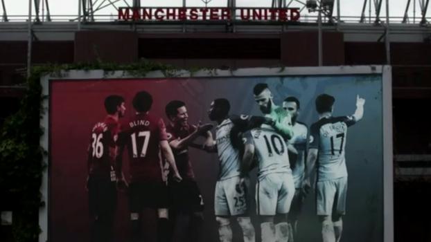 Vermelho contra azul, Mourinho contra Guardiola; Natalie Gedra mostra preparativos para clássico de Manchester