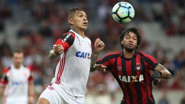 Brasileiro: Gols de Atlético-PR 1 x 1 Flamengo