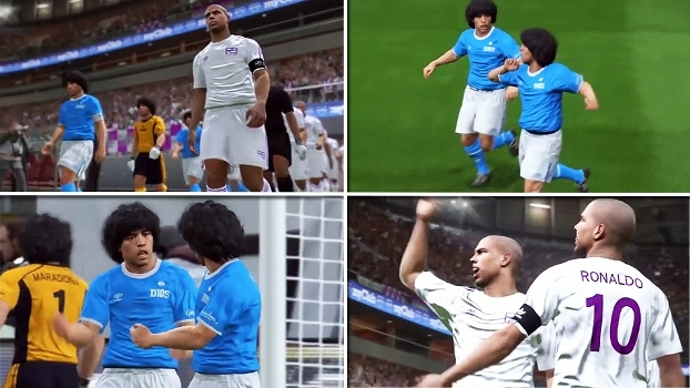 O que aconteceria se 11 Ronaldos enfrentassem 11 Maradonas? Veja e saiba quem sairia vencedor