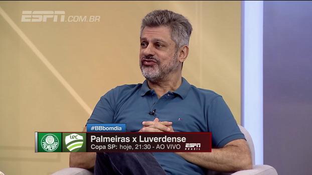 Arreguy lembra das contratações do Palmeiras: 'É muito difícil que os garotos sejam aproveitados'
