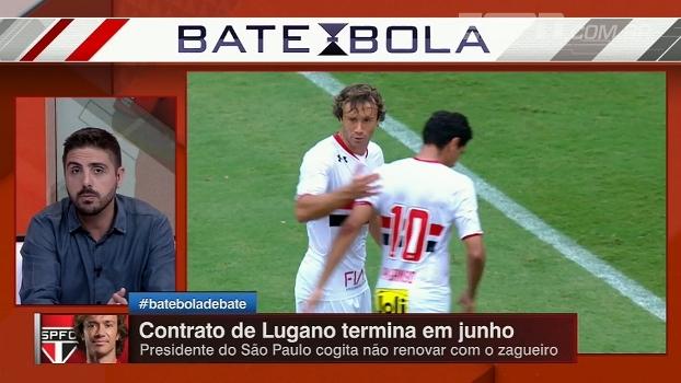 Nicola afirma que São Paulo não deve renovar o contrato de Lugano; entenda