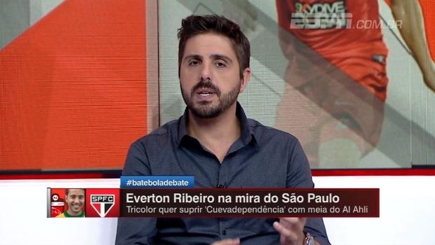Jorge Nicola traz detalhes da negociação entre Éverton Ribeiro e São Paulo