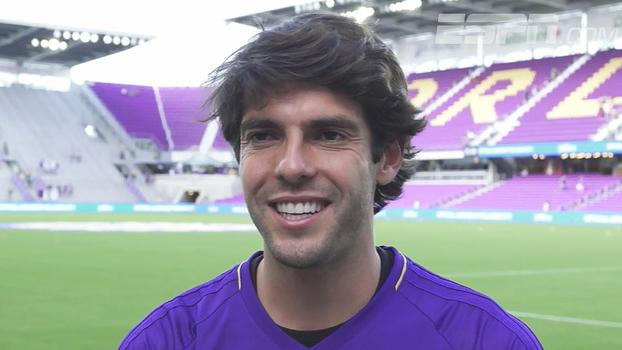 Kaká comemora mais uma participação no All-Star Game da MLS