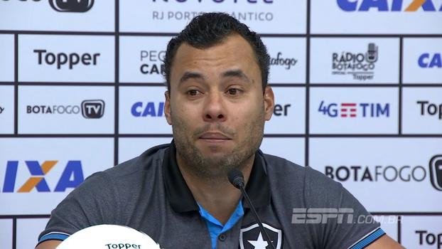 Para Jair, Libertadores não é obrigação no Botafogo: 'Nunca classificou (anos seguidos) em de 110 anos'